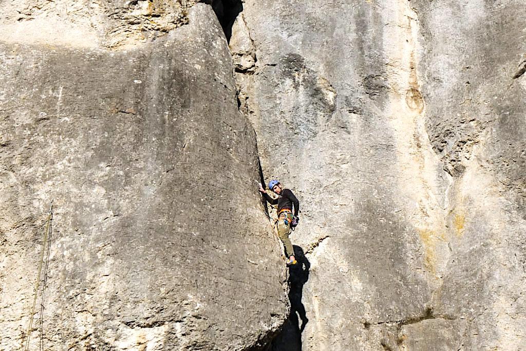 Klettern gehört zu den Highlights und Sportaktivitäten des Naturpark Altmühltal - Viele Kletterregionen mit allen Schwierigkeitsgraden - Bayern