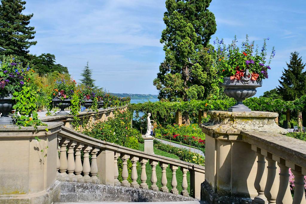 Insel Mainau - Grundlagen für den Park und Botanischen Garten wurden von dem Großherzog Friedrich I. bereits gelegt - Baden-Württemberg