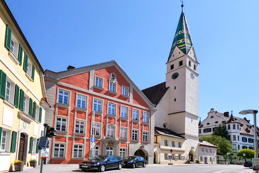 Pappenheim - Pfarrkirche St. Maria & Altes Schloss - Altmühltal - Bayern