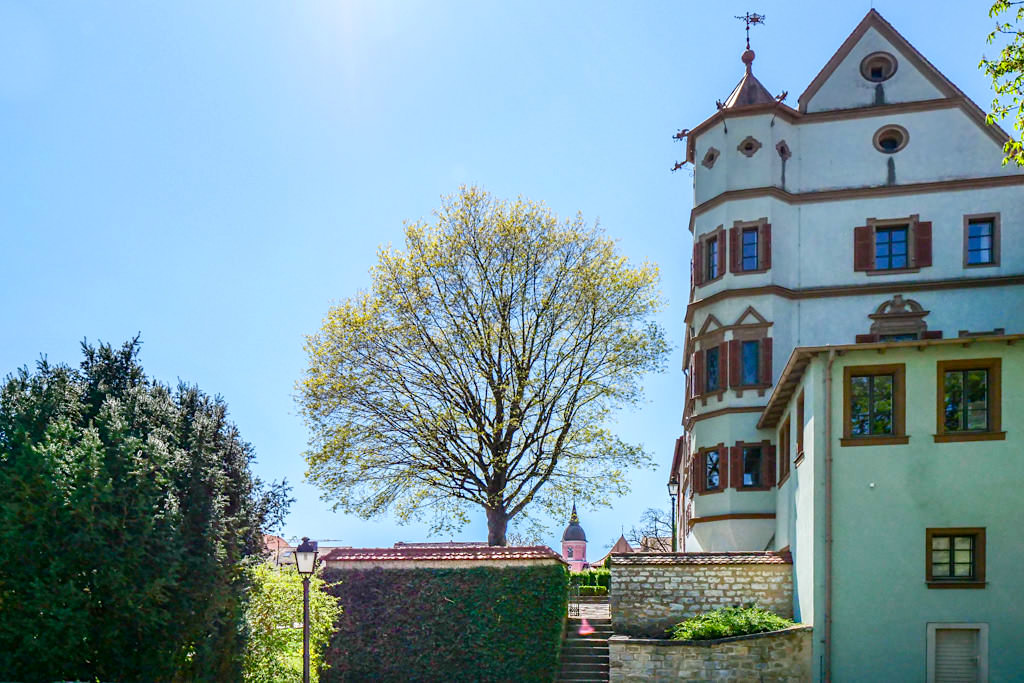 Stadtschloss Treuchtlingen oder Niedere Veste - Altmühltal Sehenswürdigkeiten - Bayern