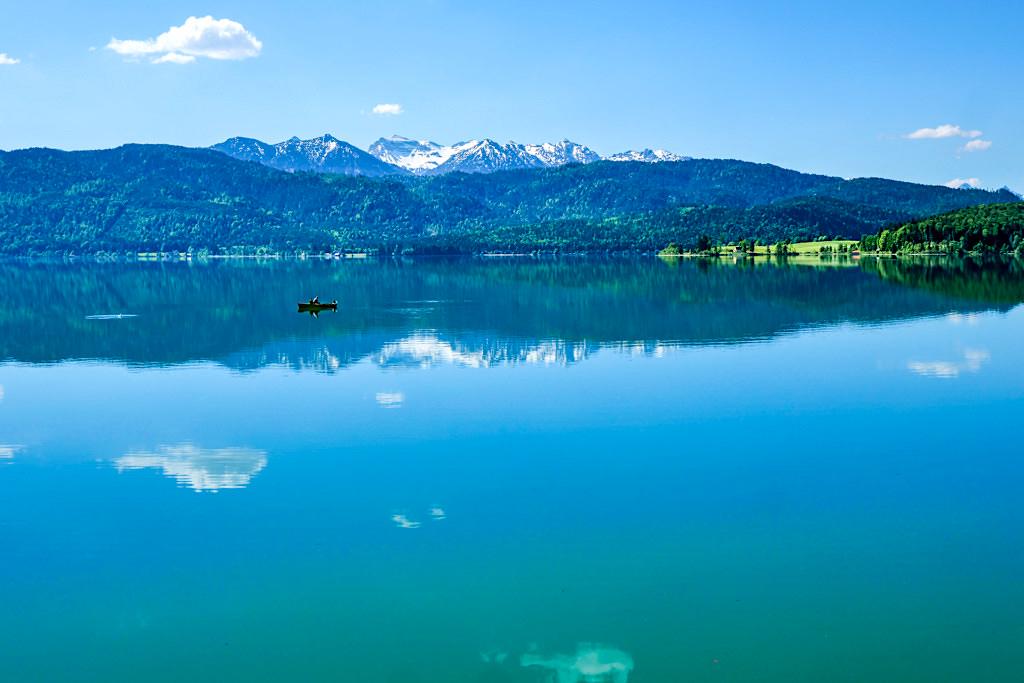 Walchensee - Faszination aus Farben, Klarheit & Bergpanorama - Einer der schönsten Flecken in Bayern