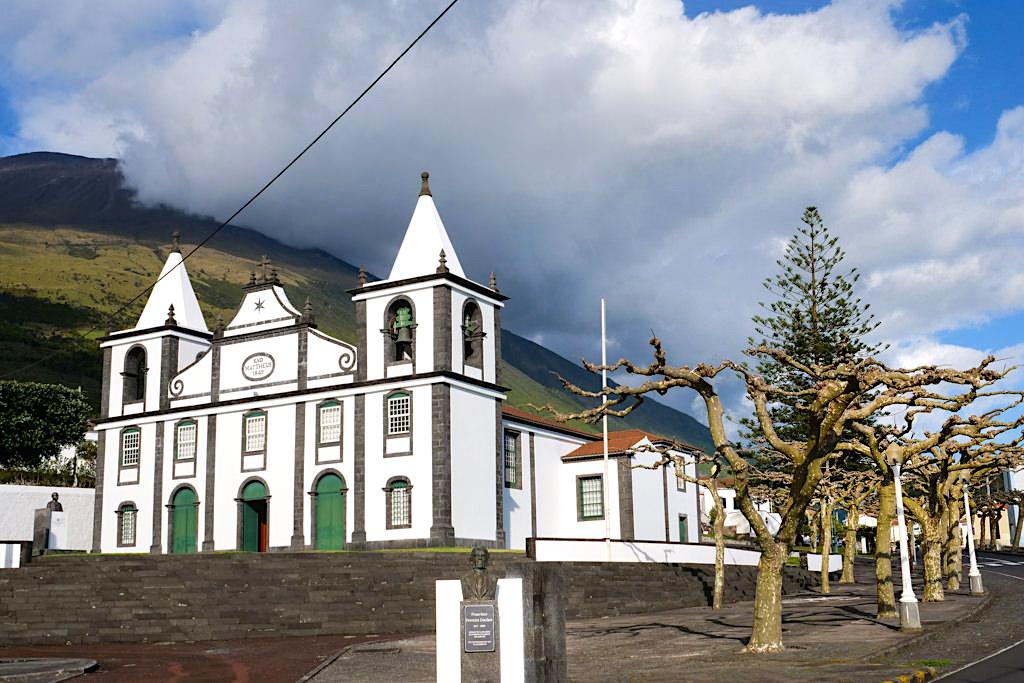 Sao Mateus - Majestätische & schönste Kirche der Insel Pico - Azoren
