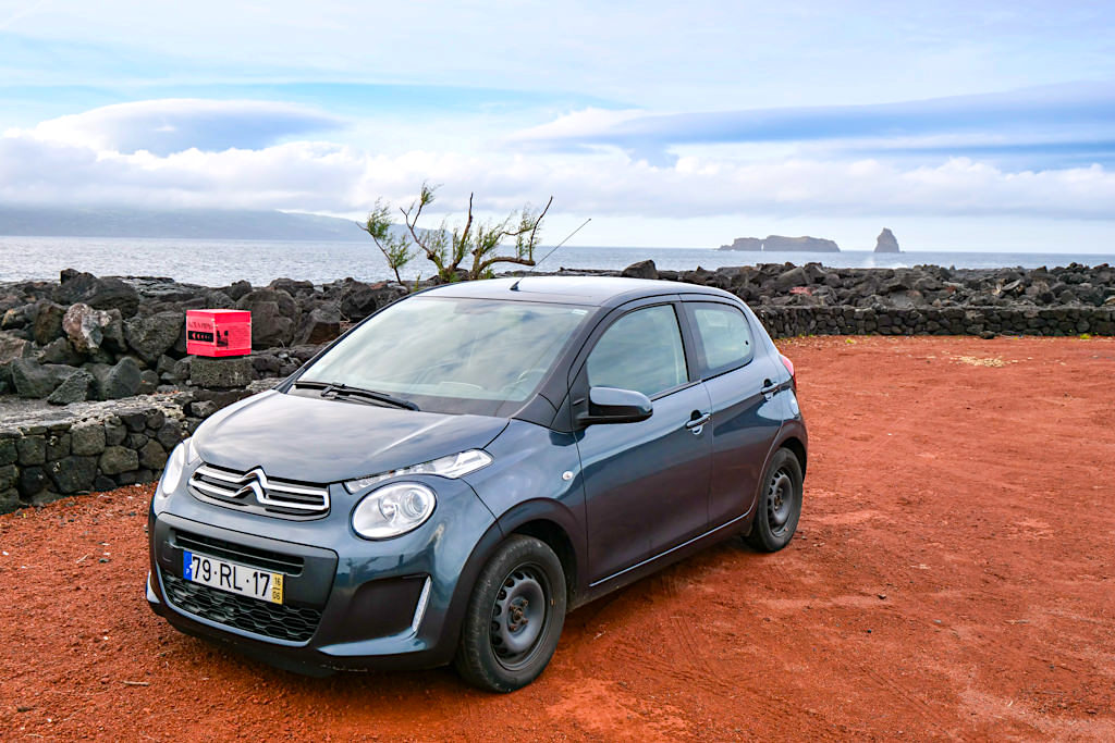Empfehlenswerter lokaler Autovermietung Autatlantis auf der Insel Pico - Azoren