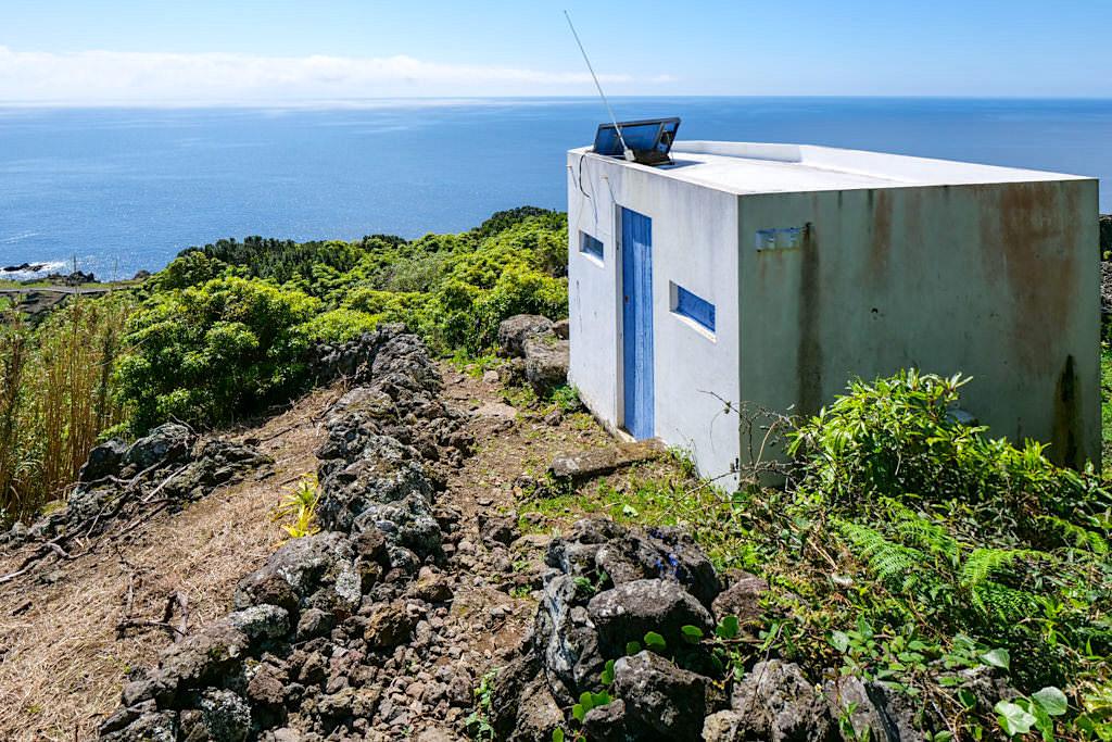 Calheta des Nesquim - Walbeobachtungsposten - Wandern auf der Insel Pico - Azoren
