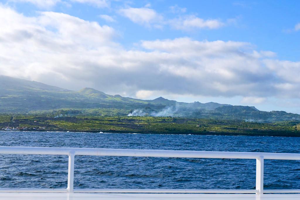 Pico Anreise - Tägliche Fährverbindungen zwischen den Inseldreieck Triangulo der Azoren