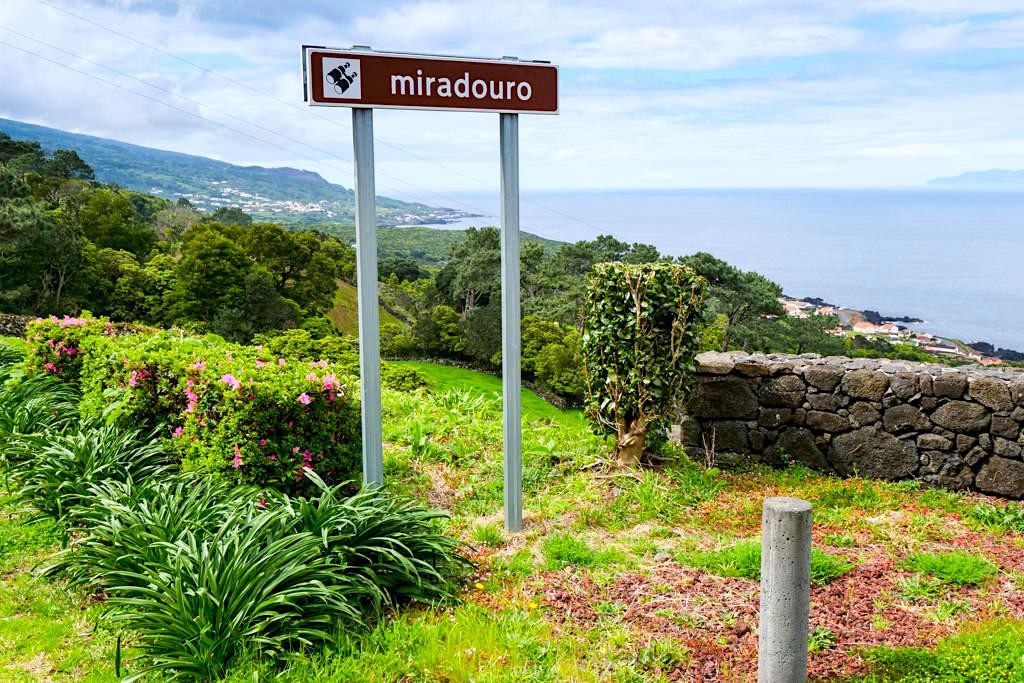 Miradouro Santa Amaro - Die Aussichtspunkte lohnen jeden Stop - Insel Pico Highlights - Azoren