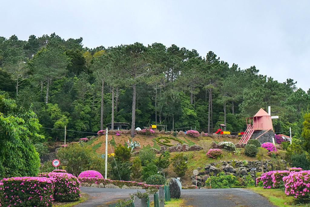 Parque Florestal da Prainha - Schönes Naherholungsgebiet mit Grillmöglichkeiten & Spielplätzen - Insel Pico Sehenswürdigkeiten - Azoren