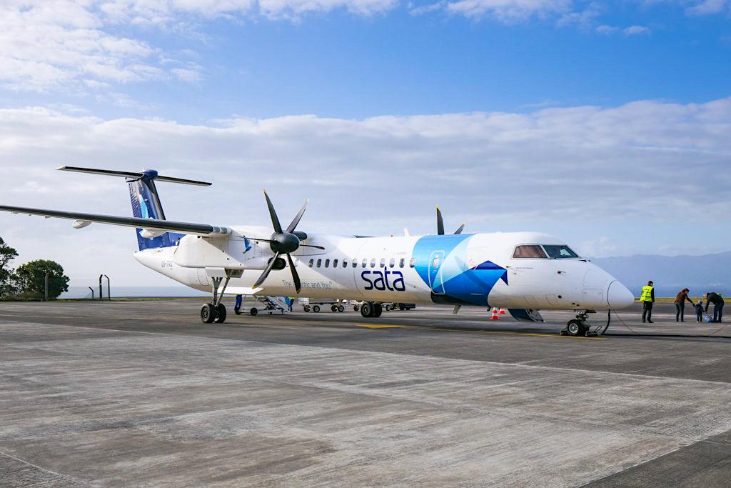 SATA Airline - Einzige Fluggesellschaft & Tägliche Flüge zu allen Inseln der Azoren