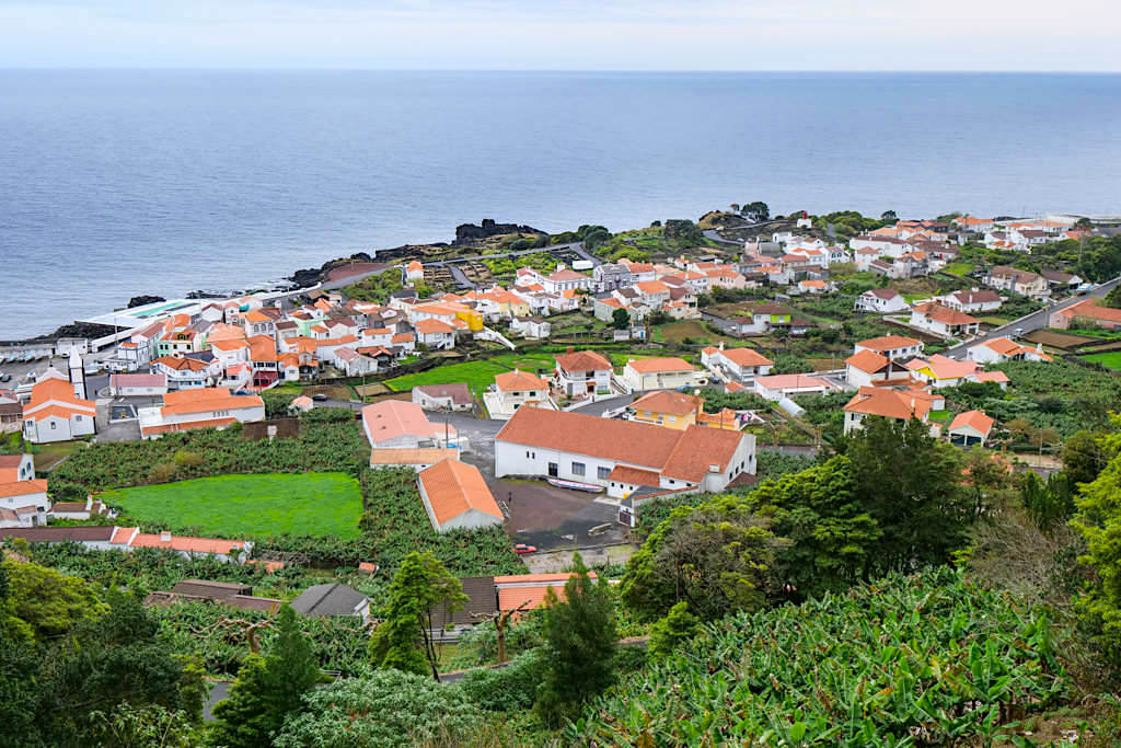 Santa Barbara - Ausblick von der ER1 - Schönste Aussichtspunkte auf derInsel Pico - Azoren