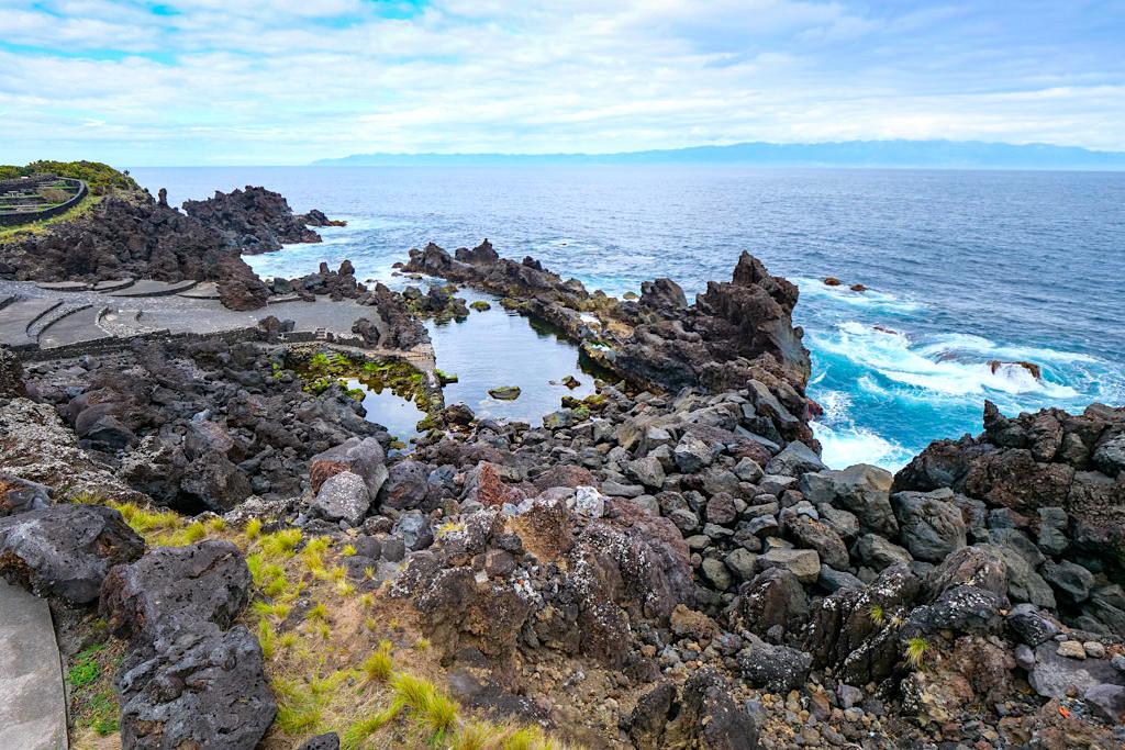 Sao Roque - Idyllisch gelegene Rockpools zum Entspannen und Baden- Insel Pico, Azoren