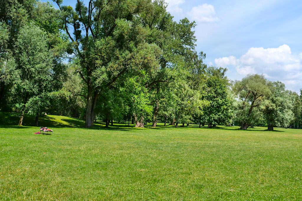 Englischer Garten Nordteil - Grünes, ruhiges Idyll - München, Bayern