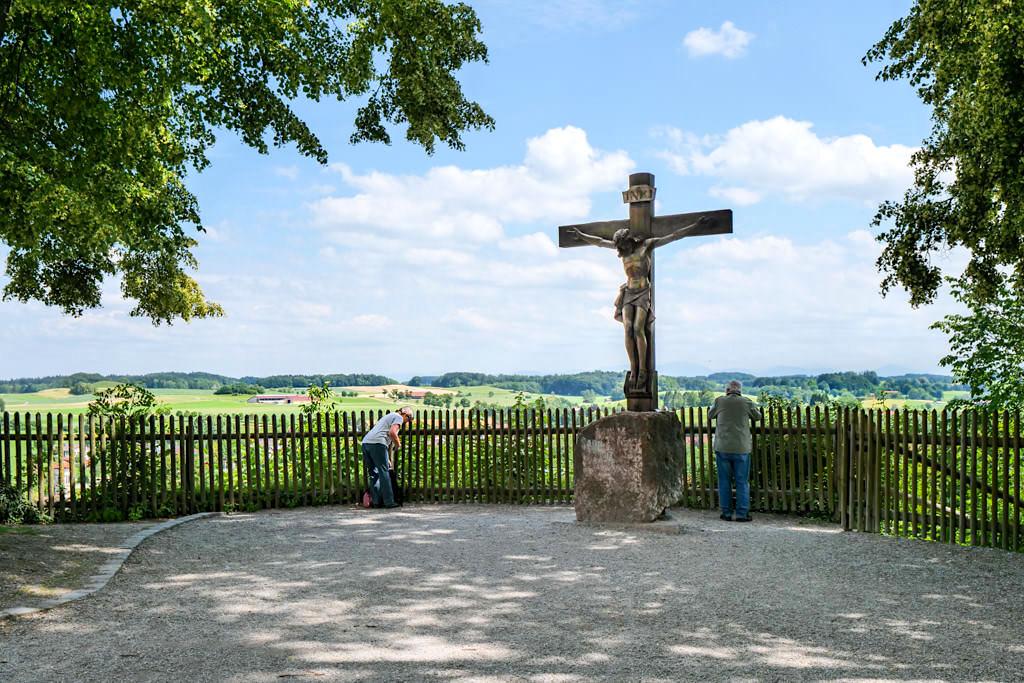Kloster Andechs - Faszinierender Ausblick auf Andechs & Umgebung - Wandern in Bayern