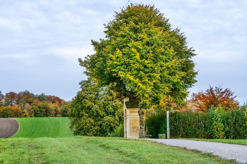 Kreuzweg beim Kloster Andechs - Benediktinerkloster - Bayern