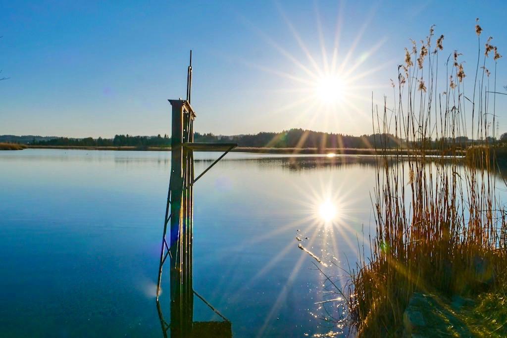 Maisinger See Wanderung - 3 Seen auf einen Streich: Starnberger See - Maisinger See - Ammersee - Bayern