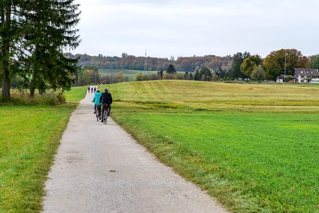 Radtour vom Starnberger See zum Maisinger See und weiter zum Ammersee - Bayern