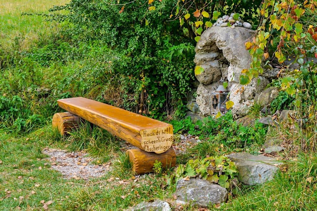 Ruhebänkchen - Drei Seen Wanderung vom Starnberger See über den Maisinger See zum Ammersee - Bayern