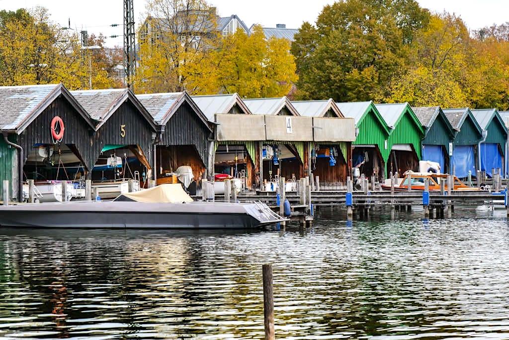 Starnberg - Fischereihütten & Bootsverleih - Bayern