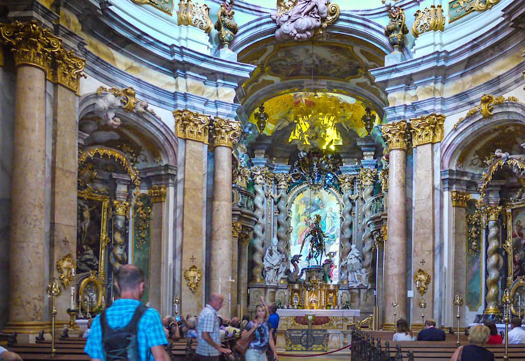 Asamkirche Kloster Weltenburg - Bayern