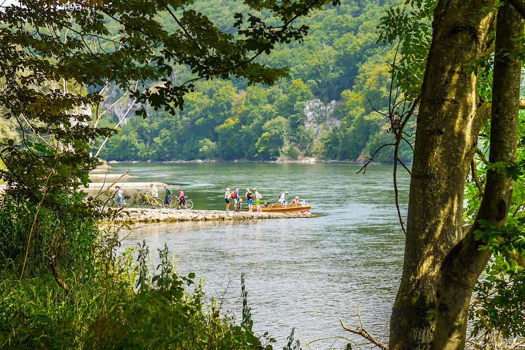 Zillerfahrt auf der Donau - Alternative zur Kloster Weltenburg Rundwanderung - Bayern