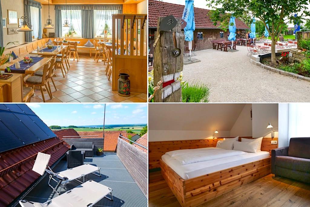 Übernachtungsempfehlung Donau-Ries: Landgasthof Weberhans - Mündling, Harburg - Donau-Ries, Bayern