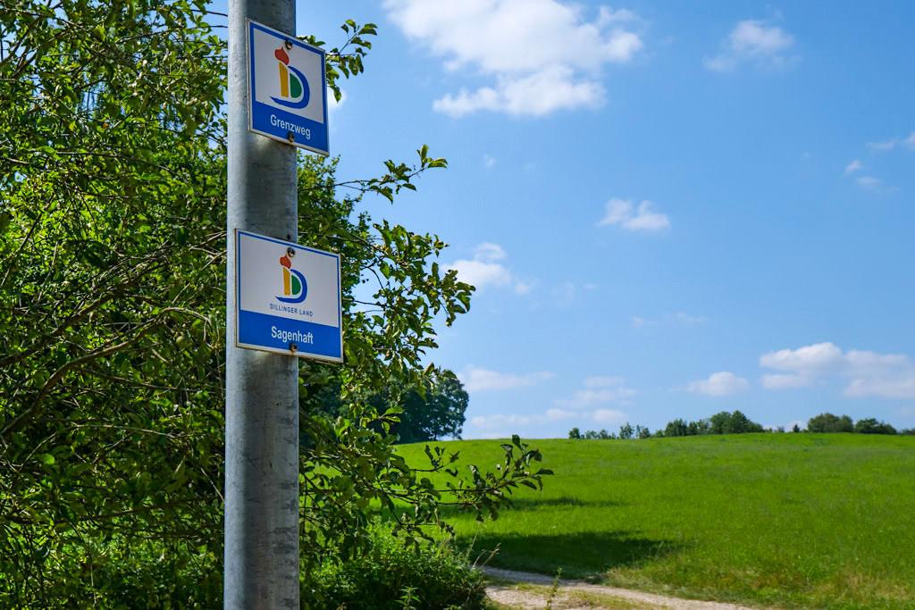 7 Kapellen Wanderungen: Donautal Panoramaweg Sagenhaft & Donautal Panoramaweg Grenzweg zur Kapelle Unterliezheim - Dillinger Land, Bayern