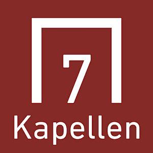 7 Kapellen Radweg Logo - Exzellente Beschilderung des Radrundweges - Dillinger Land, Bayern