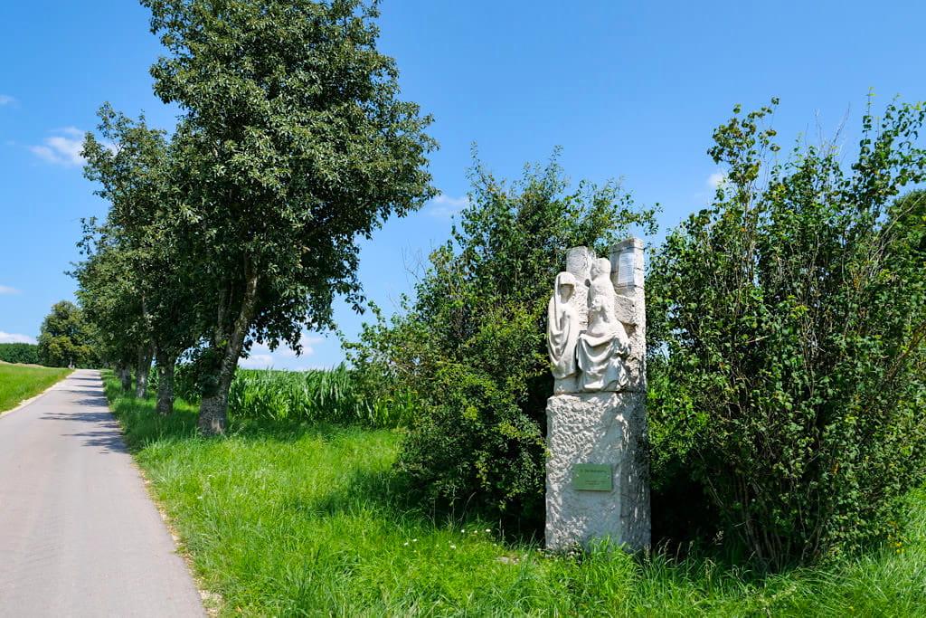 Bissingen - Stationenweg Marienwallfahrt nach Buggenhofen - Radfahren & Wandern imDillinger Land, Bayern