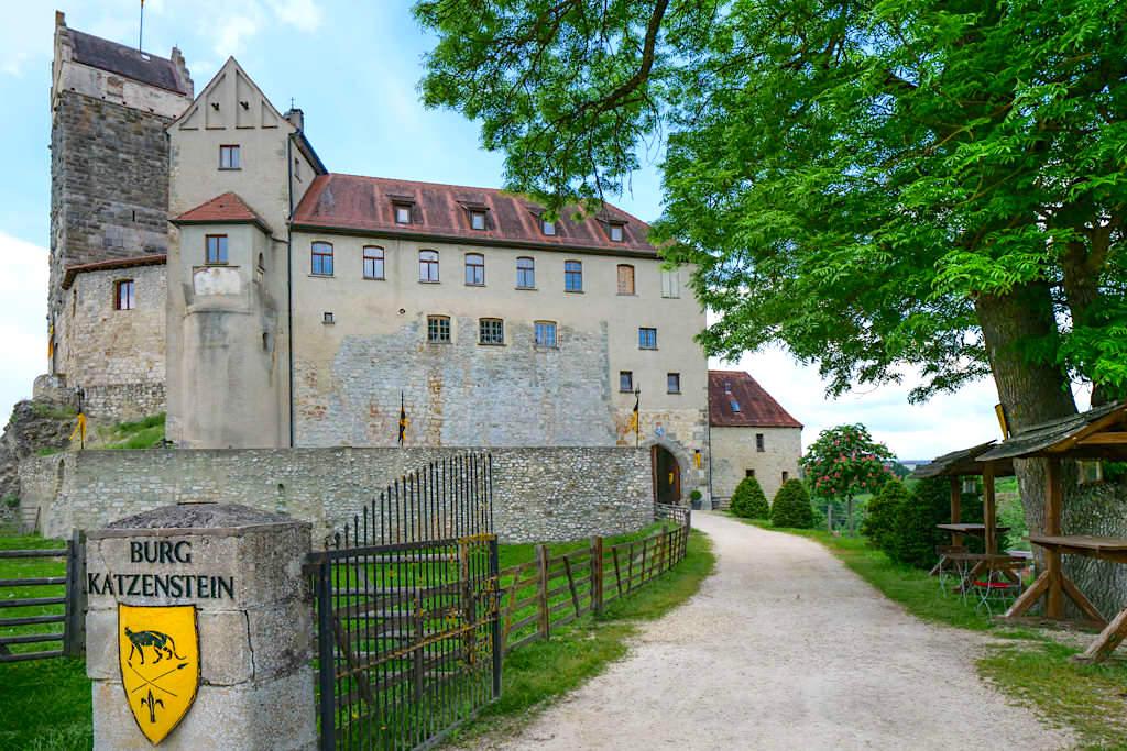 Burg Katzenstein bei Dischingen : Die schönsten Burgen & Schlösser im Ferienland Donau-Ries - Bayern