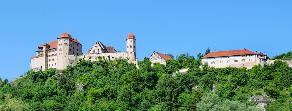 Imposante Burgen & prachtvolle Schlösser : Donau-Ries Highlights