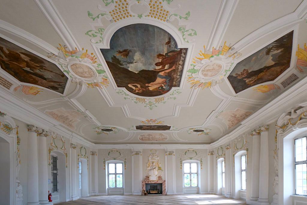 Harburg: Der Festsaal kann für Hochzeiten & Feiern gemietet werden - Schönste Burgen & Schlösser im Donau-Ries, Bayern