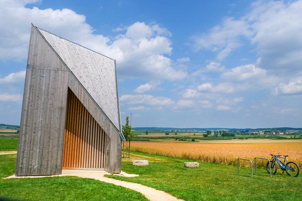 Kapelle Oberbechingen - 7 Kapellen der Siegfried Denzel-Stiftung - Dillinger Land, Bayern
