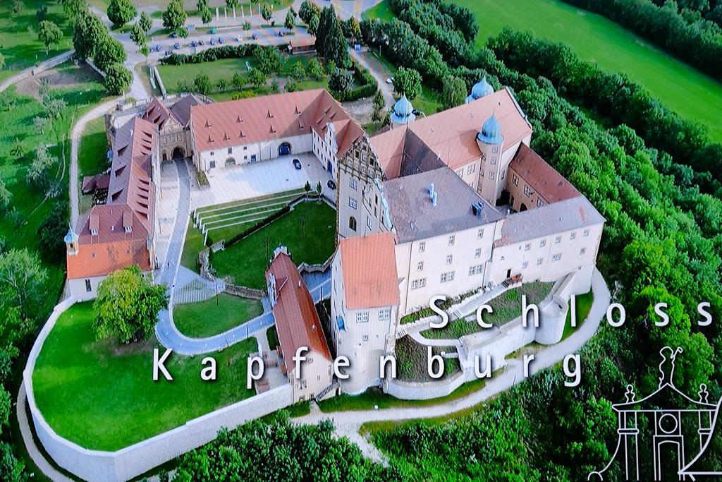 Schloss Kapfenburg - Video-Animation zur Geschichte der Burg - Donau-Ries, Baden-Württemberg