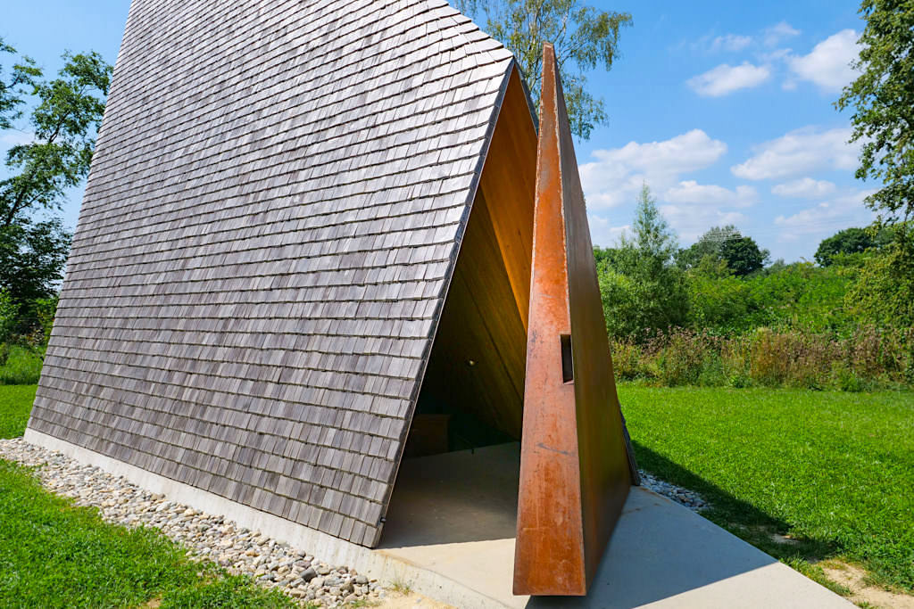 Kapelle Ludwigschwaige - 7 Kapellen ein Architekturprojekt der Denzel-Stiftung - Dillinger Land, Bayerisch Schwaben,