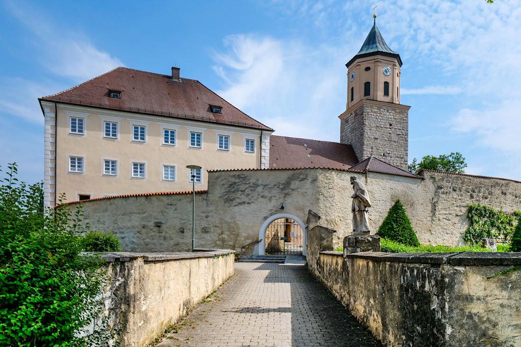Ehemaliges Schloss Gosheim bei Huisheim - Schönste Burgen & Schlösser im Donau-Ries - Bayern