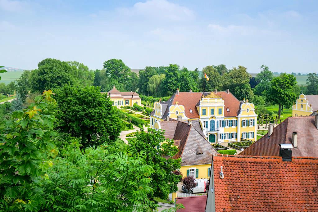 Schloss Hohenaltheim - Wohnsitz des Fürsten Oettingen-Wallerstein - Schönste Burgen & Schlösser im Donau-Ries, Bayern