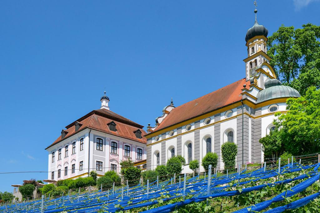 Schloss Leitheim & sein Weinberg - Schönst Burgen & Schlösser im Donau-Ries, Bayern