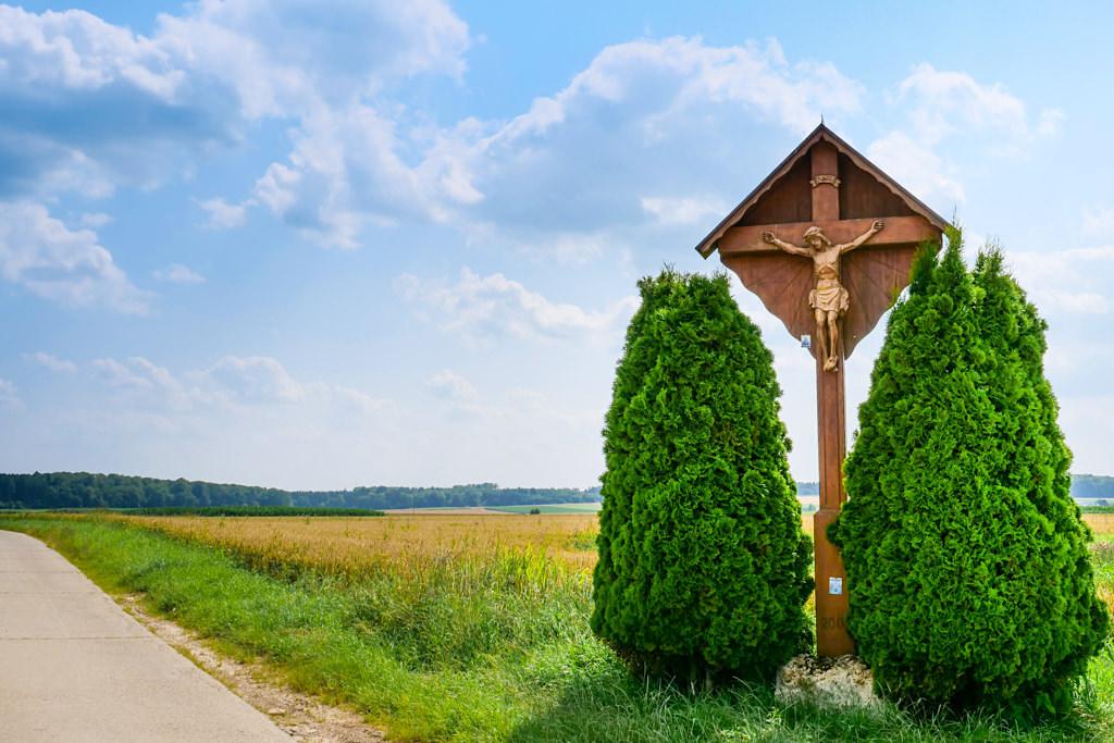 7 Kapellen Radweg und Donautal & Alb Radweg in Richtung Gundelfingen bei Bachhagel - Dillinger Land, Bayern