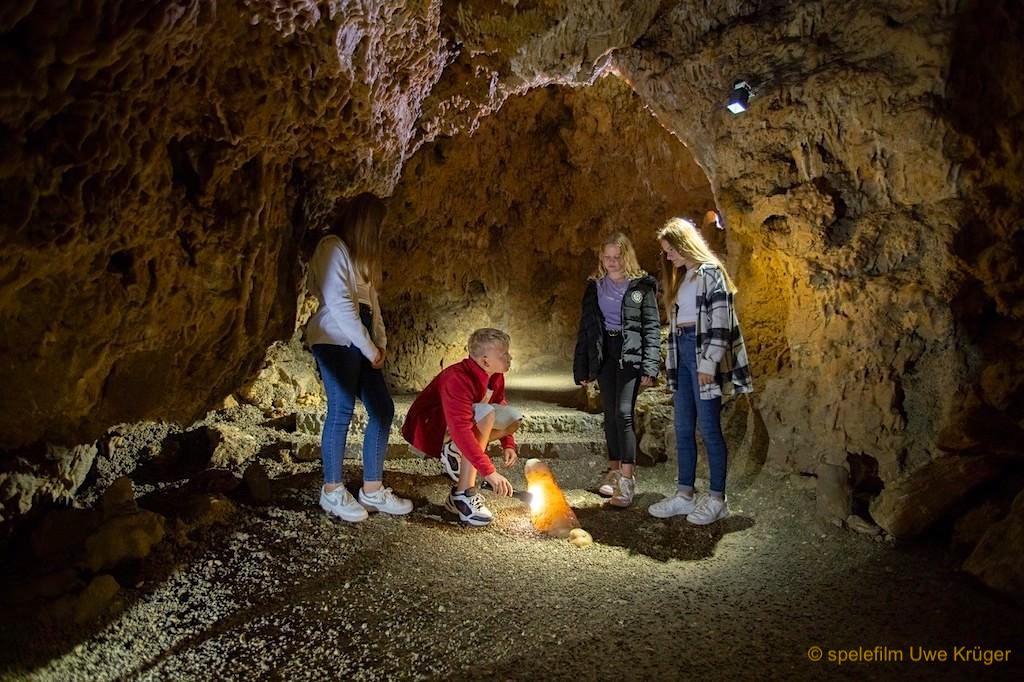 Charlottenhöhle: längste begehbare Höhle auf der Schwäbischen Alb - Hürben bei Giengen an der Benz, Baden-Württemberg