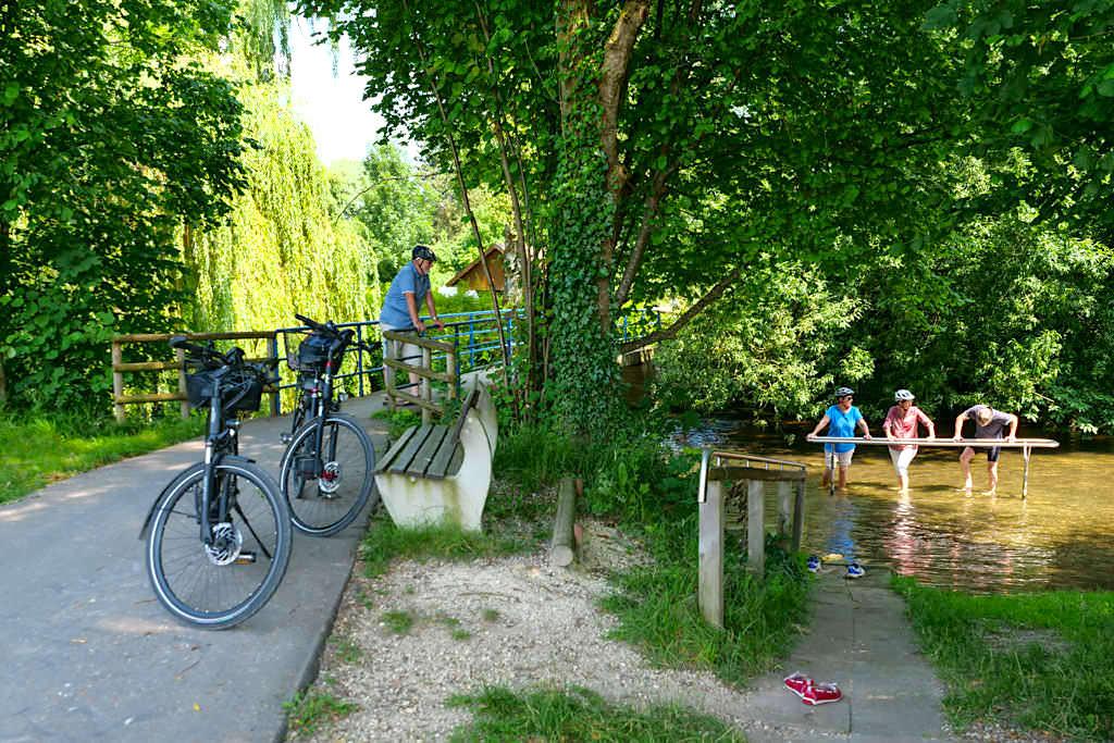 Kneipp-Anlagen - DonauTäler Radwege im Dillinger Land - Bayern