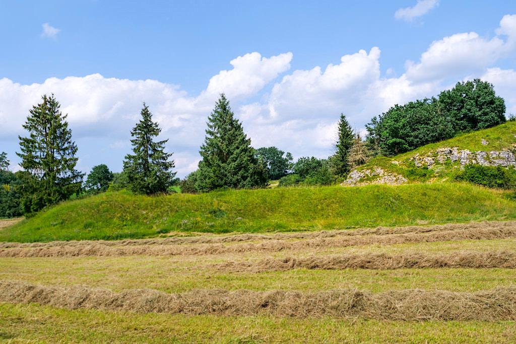 Schönes Pfannental erkunden auf dem 7 Kapellen Radrundweg und Donautal & Alb Radweg - Donautäler Radwege im Dillinger Land, Bayern