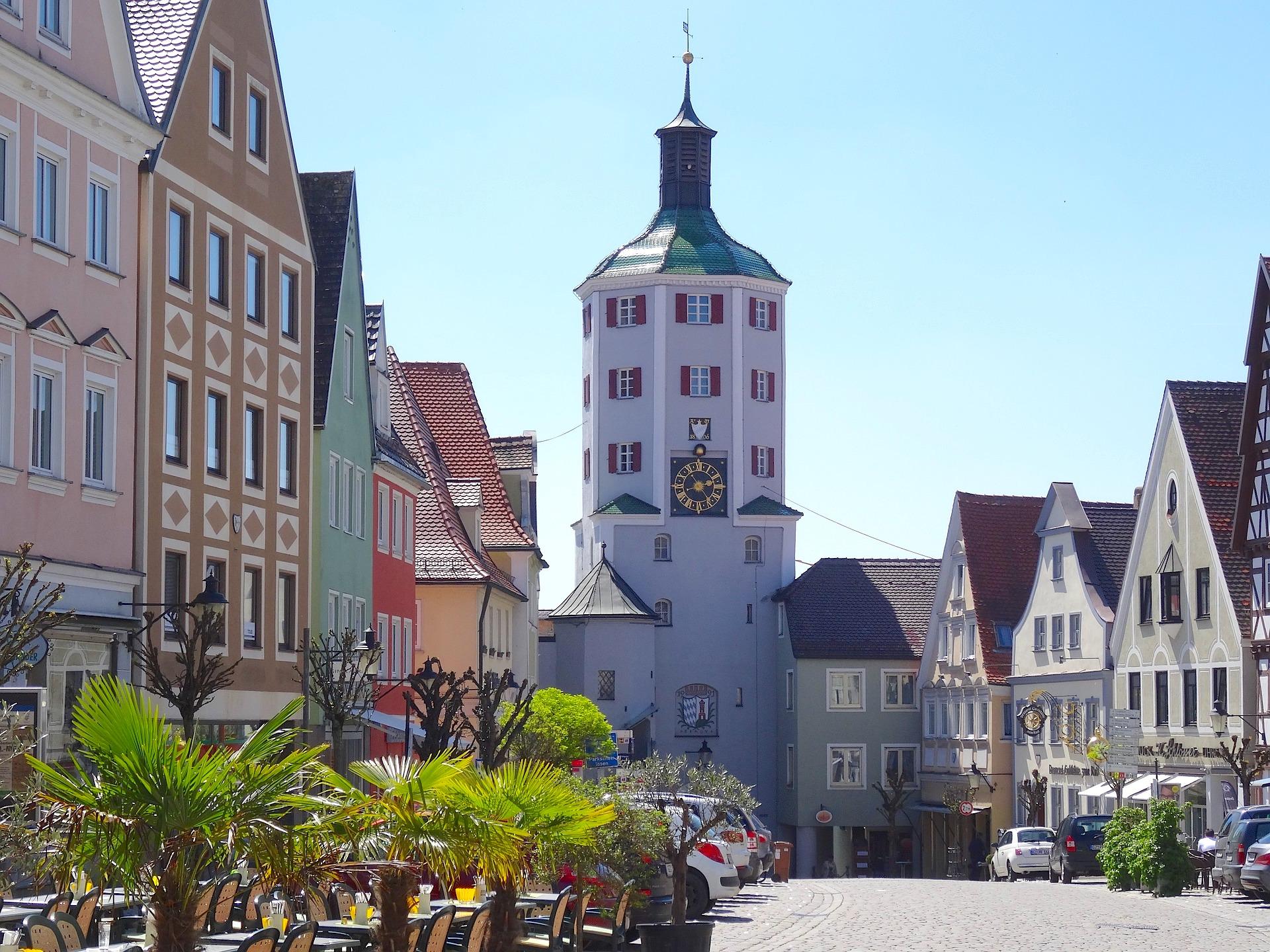 Günzburg - Schöne Altstadt & Stadttor - Bayern